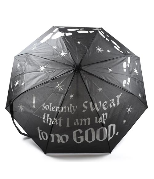 Harry Potter Marauder's Map Color Changing Umbrella