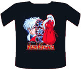 Inu Yasha Half Human Half Demon Shirt LG