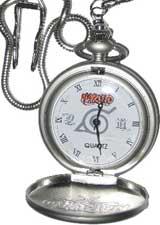 Naruto Pocket Watch and Gold Coin Gift Set