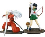 Inu Yasha Series 1 PVC Statue Set (2 Figures)