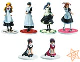 Maid Cafe Collection 1 Trading Figures