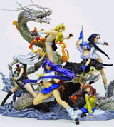 Ikki Tousen Dragon Base Trading Figure Box Set