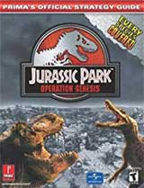 Jurassic Park Operation Genesis Official Strategy Guide Book