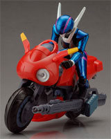Bubblegum Crisis Motoslave Priss 1/15 Scale Figure