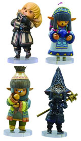 Final Fantasy XI Tarutaru Trading Arts Vol. 1 Figures Set