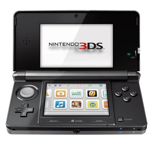 Nintendo 3DS System Cosmo Black Japanese Version