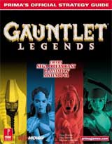 Gauntlet Legends Strategy Guide for Nintendo 64