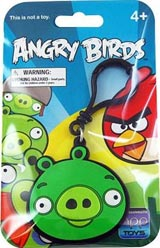 Angry Birds Green Pig Laser-Cut Backpack Clip