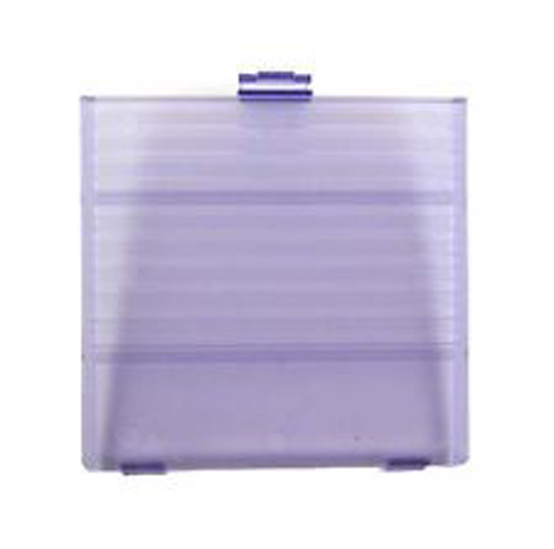 Game Boy Battery Compartment Cover Clear Purple