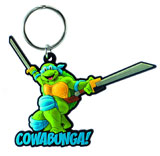 Teenage Mutant Ninja Turtles Leonardo Soft Touch PVC Keychain