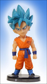 Dragonball Z Movie: Rebirth of F WCF Volume 1 Goku Figure
