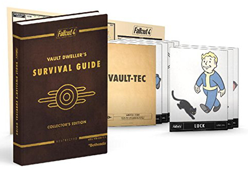 Fallout 4 Vault Dweller's Survival Collector's Edition Guide by Prima