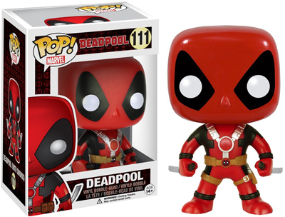 Pop! Marvel Deadpool Two Swords 3.75 Inch Vinyl Figure