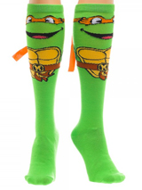 Teenage Mutant Ninja Turtles Mike Knee High with Mask