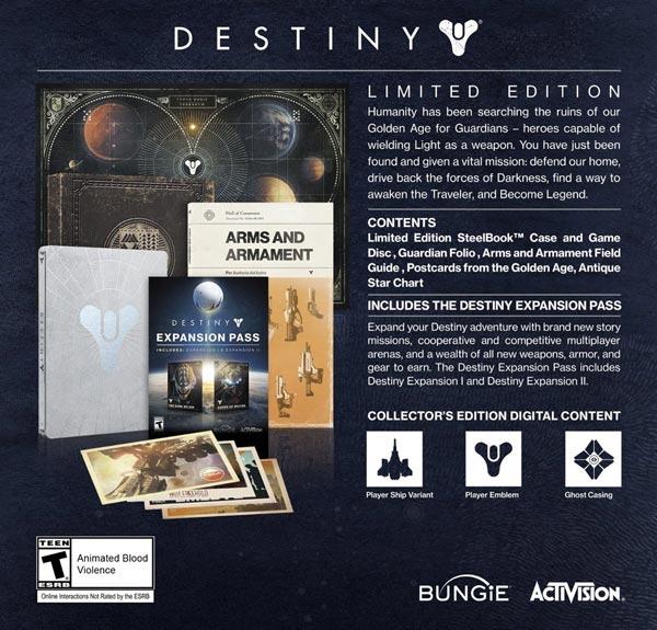 Destiny Limited Edition