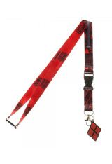 Suicide Squad Harley Quinn Good Night Lanyard with Charm