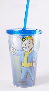Fallout 4 Vault Boy Molded Ice Cube 16oz Carnival Cup