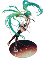 Hatsune Miku: Rage of Bahamut Winter Heroine 1/8 Scale PVC Figure