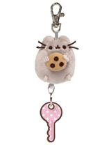 Pusheen Retractable Keychain