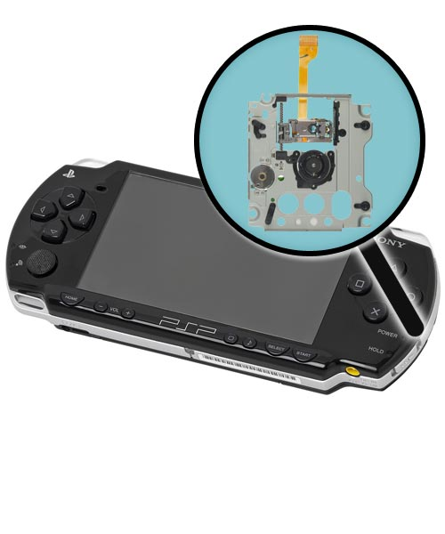 Sony PSP Model 2000 Repairs: UMD Drive Assembly Replacement Service