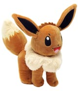 Pokemon Eevee 8 Inch Plush Assortment Wave 2