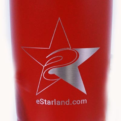 eStarland Ringneck Tumbler 20oz design close up