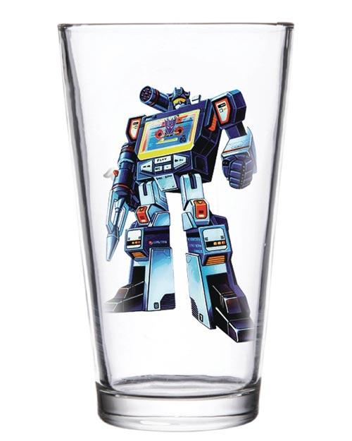 Transformers Soundwave 16 oz Pint Glass