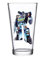 Transformers Soundwave 16 oz Pint Glass