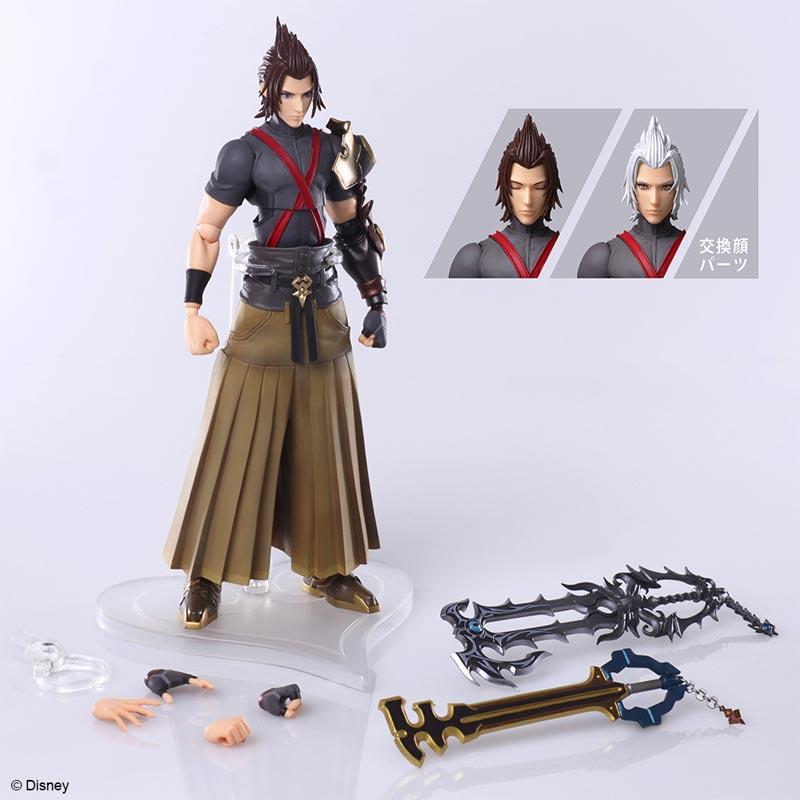 Kingdom Hearts 3 Bring Arts Terra AF all items