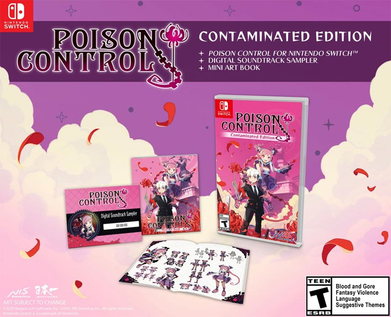 Switch Poison Control Contaminated Edition all items
