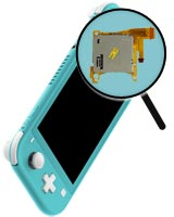 Nintendo Switch Lite Repairs: Game Card Slot Replacement Service