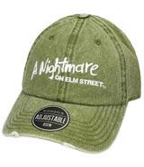 Nightmare on Elm Street Logo Distressed Dad Hat