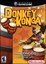 Donkey Konga with Bongo Drum Controller