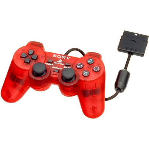 PS2 DualShock 2 Controller Crimson Red By Sony