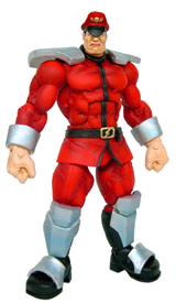 Street Fighter 15th Anniversary Series 1 M. Bison Action Figure