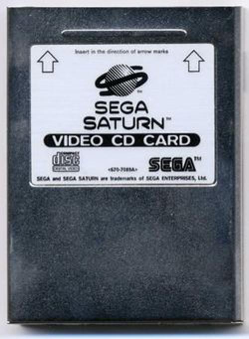 Sega Saturn VCD Movie Card by Sega