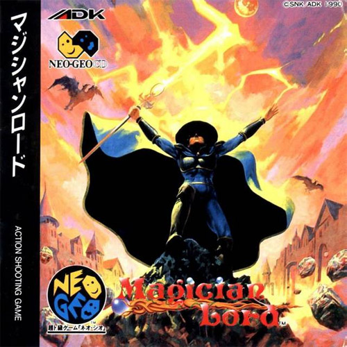 Magician Lord Neo Geo CD