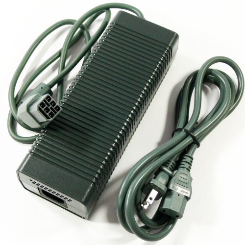 Microsoft Xbox 360 Power Supply Version 1 (3 Prong)