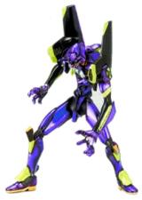 Neon Genesis Evangelion Unit-01 Purple Action Figure