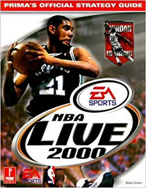 NBA Live 2000 Official Strategy Guide Book