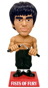 Bruce Lee Fists of Fury Bobblehead