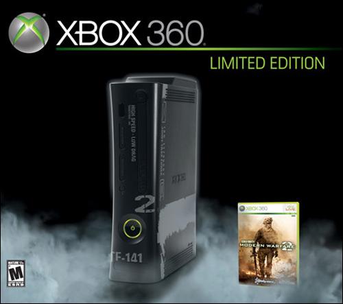 Xbox 360 Call of Duty: Modern Warfare 2 Limited Edition Bundle