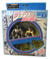 Jojo's Bizarre Adventure Silver Chariot & Polnareff Action Figures