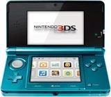 Nintendo 3DS System Aqua Blue Japanese Version