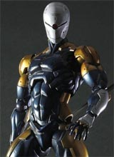 Metal Gear Solid Play Arts Kai Cyborg Ninja Action Figure