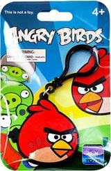 Angry Birds Red Bird Laser-Cut Backpack Clip