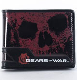 Gears of War Underglass Black Bi-Fold Wallet