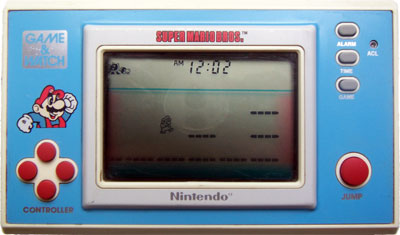 Game & Watch New Wide Screen Series: Super Mario Bros