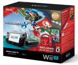 Nintendo Wii U Deluxe Set With Mario Kart 8