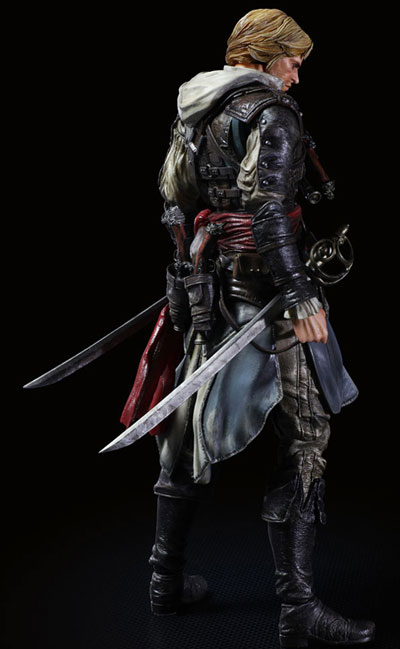 Assassins Creed IV Play Arts Kai Edward Kenway Action Figure